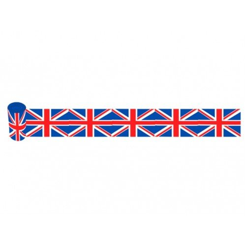 Union Jack Flag Streamer of 20cm wide 10 (Tour De France Flag)