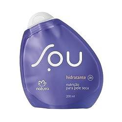 Linha Sou Natura - Hidratante Nutricao para Pele Seca 200 Ml - (Natura Sou Collection - Nourishing Moisturizer For Dry Skin 6.76 Fl Oz)