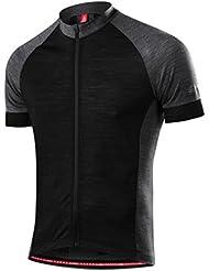 Löffler–Bike camiseta Urban FZ Fullzip 18993–Bike camiseta con lana de merino