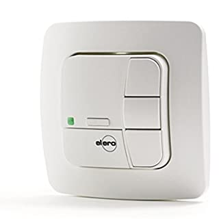 elero Unitec 868 Radio Wall Transmitter Cream White