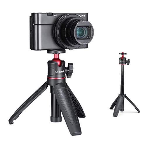 ULANZI MT-08 Erweiterung Vlog Stativ Griff Griff für iPhone 11 Pro Max Samsung OnePlus Google Smartphone Canon G7X Mark III Sony RX100 VII A6400 A6600 Kompaktkameras Vlogging
