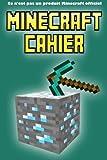 Minecraft Cahier: Ce n'est pas un produit Minecraft officiel