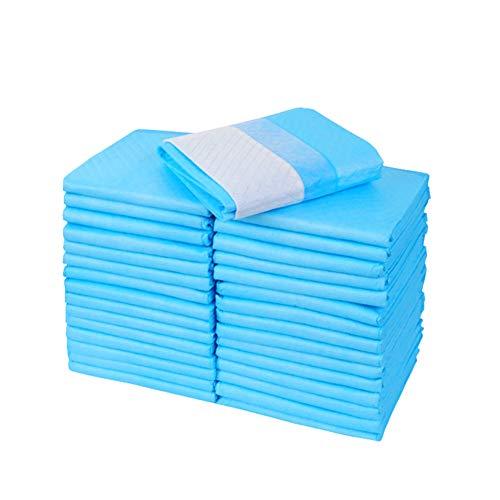 Einweg Hund Windel, Plüsch Windel Saugfähigen Pad Deodorant, Tragbar Für Outdoor,Blau,L -
