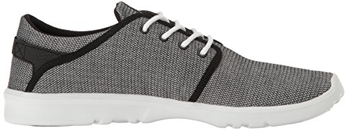 Etnies Herren Scout Low-Top Schwarz (Black/Black/White)