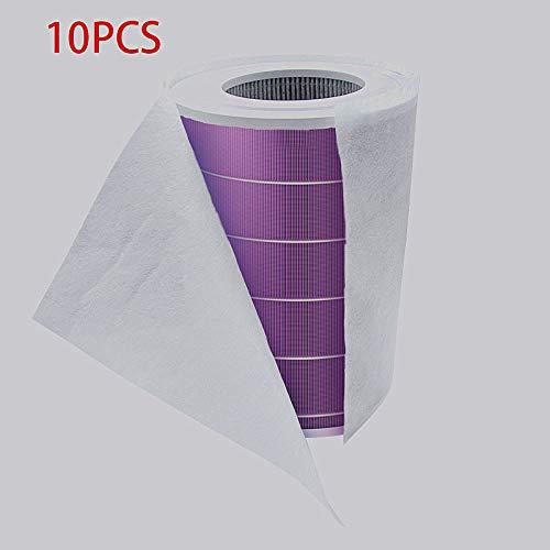 LMST PM2.5 - Filtro purificador de aire de algodón electrostático 10 unidades 10 unidades.