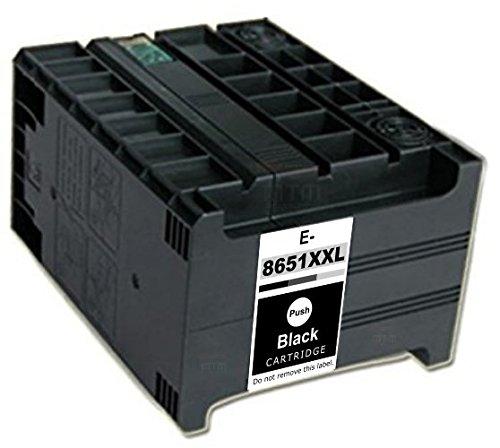 Preisvergleich Produktbild UniToner Tinte Kompatibel zu Epson T8651 XXL / C13T865140 | Für Epson WF-M5190, WF-M5690