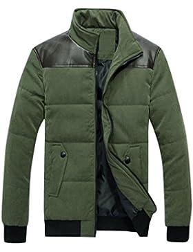 [Patrocinado]Ropa de abrigo para hombre, RETUROM Invierno hombres cálidos cremallera abrigo chaqueta outwear