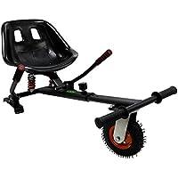 Hiboy Kart-0105 Asiento Kart Pro, Silla de Hoverboard Todoterreno con suspensiones Self Balancing