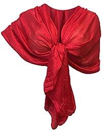 Amazon.it  coprispalle donna elegante - Rosso   Sciarpe   Sciarpe e ... b808c5dfca7b