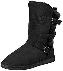 Carlton London CL by Womens Raven Black Boots - 5 UK/India (38 EU)