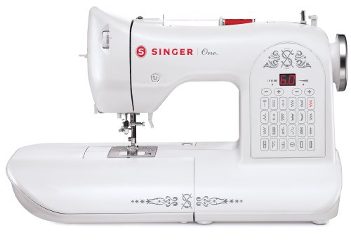 Singer One Computernähmaschine, Limited Edition, weiß