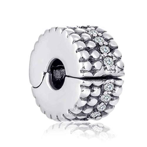Charm in argento sterling 925 a forma di corona reale per braccialetti pandora a