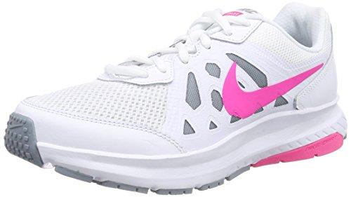 Nike Dart 11, Damen Laufschuhe, Weiß (White/Pink Pow-Dove Grey 101), 39 EU (Nike-dart Weiße)