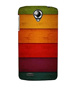 FIOBS Color Abstract Designer Back Case Cover for Lenovo S820