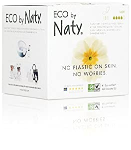 Eco by Naty Sanitary Napkins - 13 Pieces