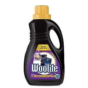 Woolite Top & Front Load Liquid Laundry Detergent – 1 L (Darks)