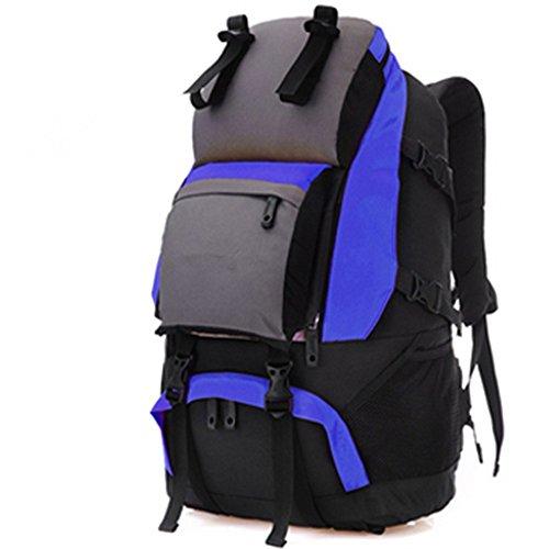 Zainooutdooralpinismomaschiliefemminiliborsatracollaviaggioescursionismoborsaimpermeabilebackpack,green(40L) blue(60L)