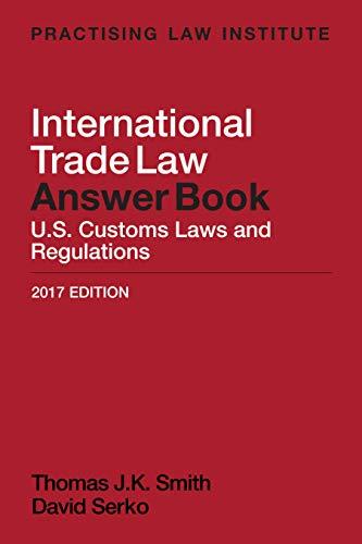 International Trade Law Answer Book (English Edition) eBook ...