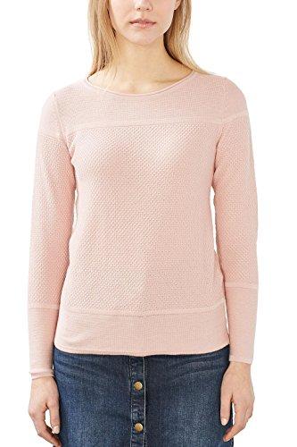 ESPRIT 017ee1i002, Suéter para Mujer, Rosa (Nude), 38 (Talla del fabricante: Medium)