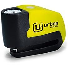 Candado de disco URBAN UR6 con Alarma 6mm 120dba