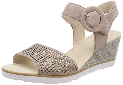 Gabor Shoes Damen Basic Riemchensandalen, Mehrfarbig (Antikrosa), 37.5 EU