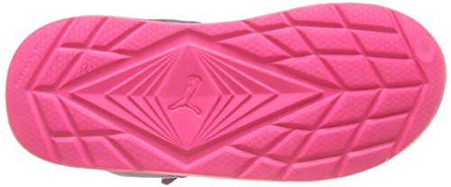 Puma Wild Sandal Injex Ps, Scarpe da Ginnastica Basse Unisex – Bambini Rosa (Knockout Pink-electric Purple 03)