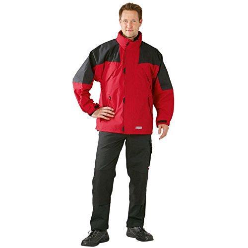 """Planam Jacke """"Winter Redwood"""" Größe XL in amporablau / schwarz, mehrfarbig, 3141056 Rot/Schwarz"""