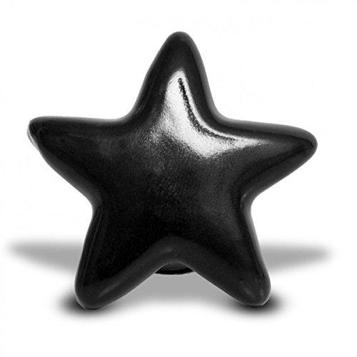 Möbelknopf Stern gelb