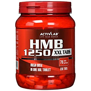 Activlab HMB 1250 XXL Tabs (230 Tabs), 1er Pack (1 x 400 g)