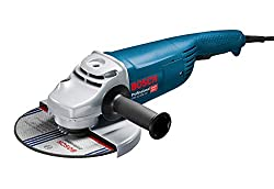 Bosch Professional Winkelschleifer GWS 22-230 JH (Zusatzhandgriff, Schutzhaube, Karton, Scheiben-Ø: 230 mm, 2200 Watt)