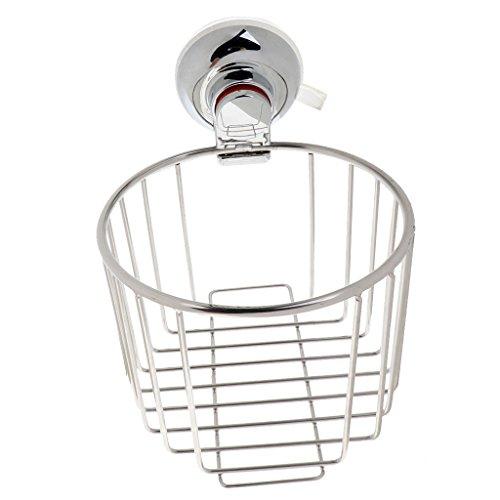 SM SunniMix Toilettenpapierhalter Edelstahl Papierrollenhalter WC Rollenhalter, 138x105x16mm