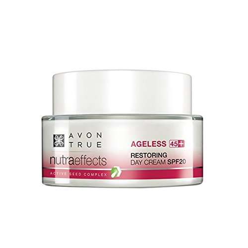 Avon Nutra Effects Ageless Anti-Aging Tagescreme LSF 20 für Haut ab 45 Nachfolger von Solutions Ageless Bloom
