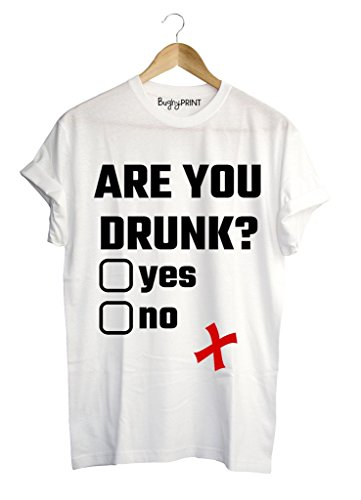 T-shirt uomo Are you drunk?, L