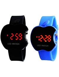 Om Sai Enterprise Combo Of 2 Digital Black Dial Kids Watch(Pack Of 2)