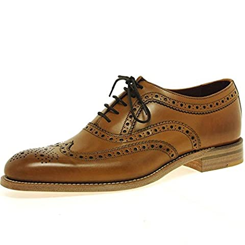 Fearnley Mens Formale Lace Up Schuhe 9.5 Tan Burnished
