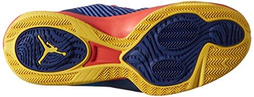 Nike Jordan Cp3.Viii, Scarpe da Basket Uomo, Grigio Blu/rosso/nero/giallo (Dp Ryl Bl/Infrrd 23-Blk-Tr Yll)