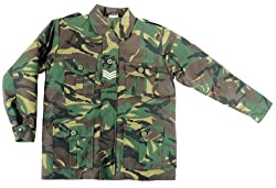 Kids Army Camouflage Jacket - Ages 3-13 (Age 9-10 )