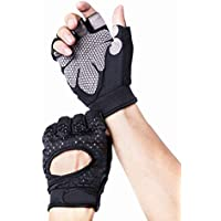 Avril Tian Atmungsaktiv Ultralight Gewicht Lifting Sport Handschuhe, Trainings Gym Handschuhe Unterstützung für Powerlifting, Cross Training, Fitness, Bodybuilding, Herren und Damen, Large