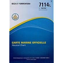 Carte marine : Ibiza et Formentera