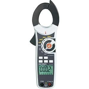 Pince ampèremétrique, Multimètre numérique VOLTCRAFT VC530 CAT III 600 V Affichage (nombre de points):6000