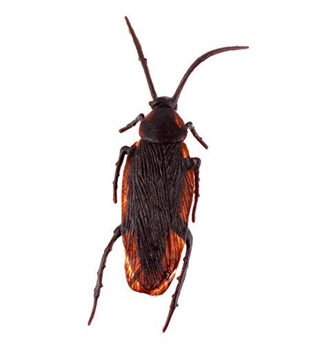 (Cdet Halloween Requisiten Falsche Kakerlaken Streich Neuheit Kakerlake Roach Käfer Echt Aussehen Gefälschte Kakerlaken April Fool 's Day Spielzeug)