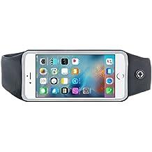 "Bigben Etui Ceinture Sport pour Smartphone jusqu'à 5,5"" Noir"