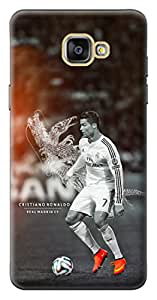 Mott2 Back Case for Samsung Galaxy ON7 2016 | Samsung Galaxy ON7 2016Back Cover | Samsung Galaxy ON7 2016 Back Case - Printed Designer Hard Plastic Case - Cristiano Ronaldo-CR7 theme