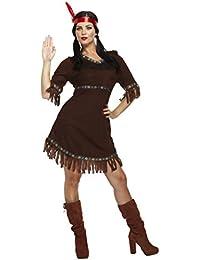 Henbrandt Damen Indianer Squaw Damen-kostüm