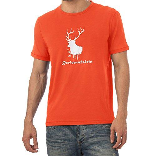 Texlab Revieraufsicht - Herren T-Shirt, Größe M, - Jäger Und Reh Kostüm