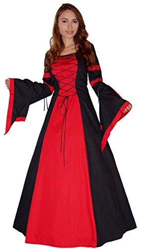 MAYLYNN 14279 - Mittelalter Kleid Kostüm Keyla - Baumwolle, Größe:M