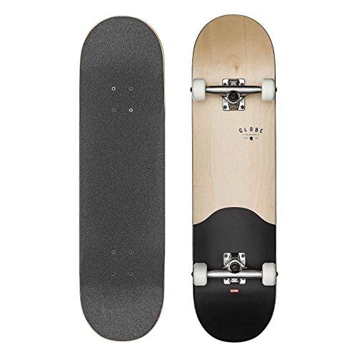 Globe Anfänger Skateboard 8.0 mit Tensor Achsen und Gratis Beanie G1 Argo Boxed Complete Board maple black