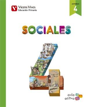 SOCIALES 4+ ASTURIAS SEPARATA (AULA ACTIVA): Sociales 4. L. Alumno Y Separata Asturias. Aula Activa: 000002 - 9788468237916