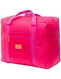 09572108c5a Brown Leaf reg  Travel Foldable Lightweight Big Carry On Luggage Bag Shopping  Bag Grocery Shopping Bag Travel Shopping Bag…