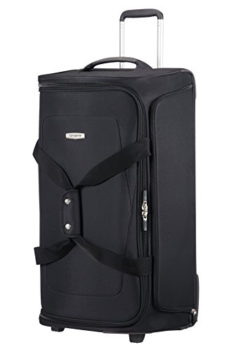 SAMSONITE Spark SNG - Wheeled Duffle Bag 77/28 Bolsa de viaje, 77 cm, 107,5 liters, Negro (Black)